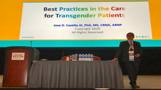 Anesthesia Inclusive Practices Amidst Adversity: Caring for the Transgender Patient Part I