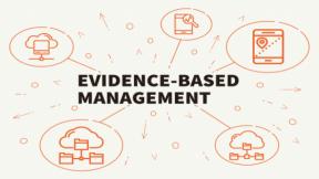 Evidence-based Leadership