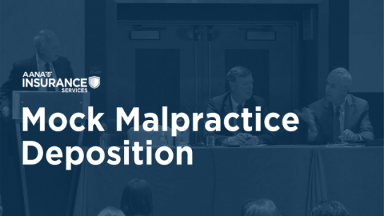 Mock Malpractice Deposition
